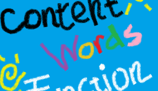 content-words