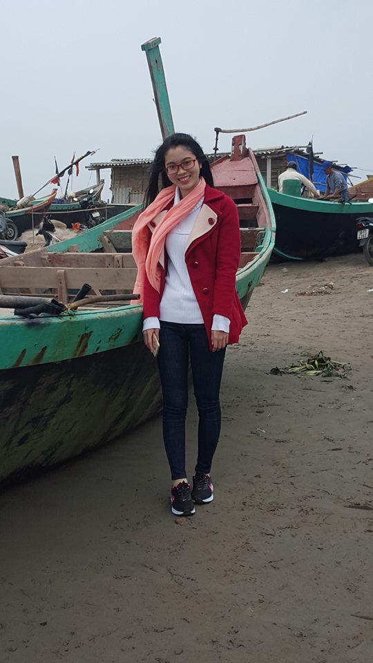 Chị Hà - lớp phát âm T12/2016,thầy Quang