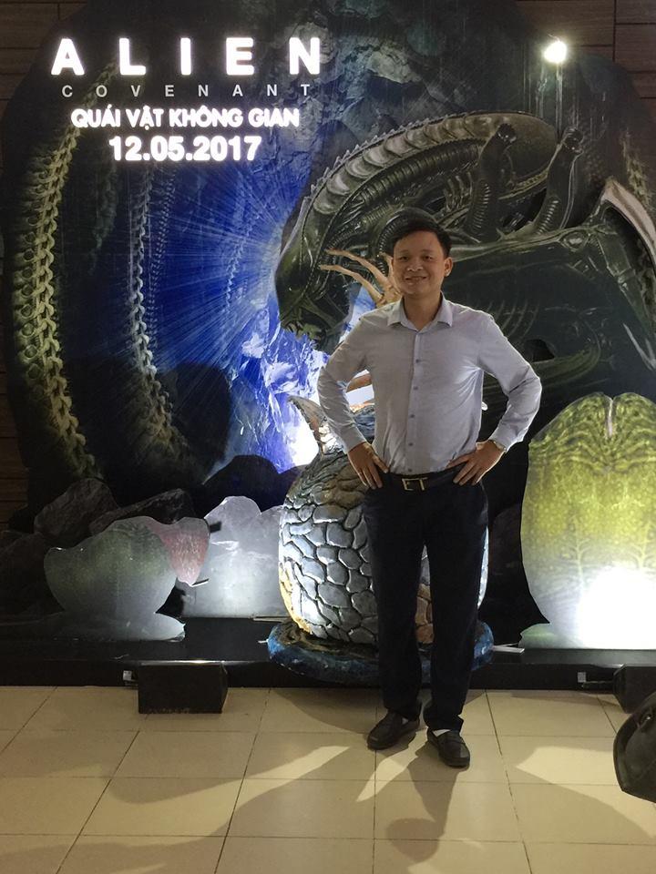 Anh Vinh - lớp phát âm T3/2017, cô Moon