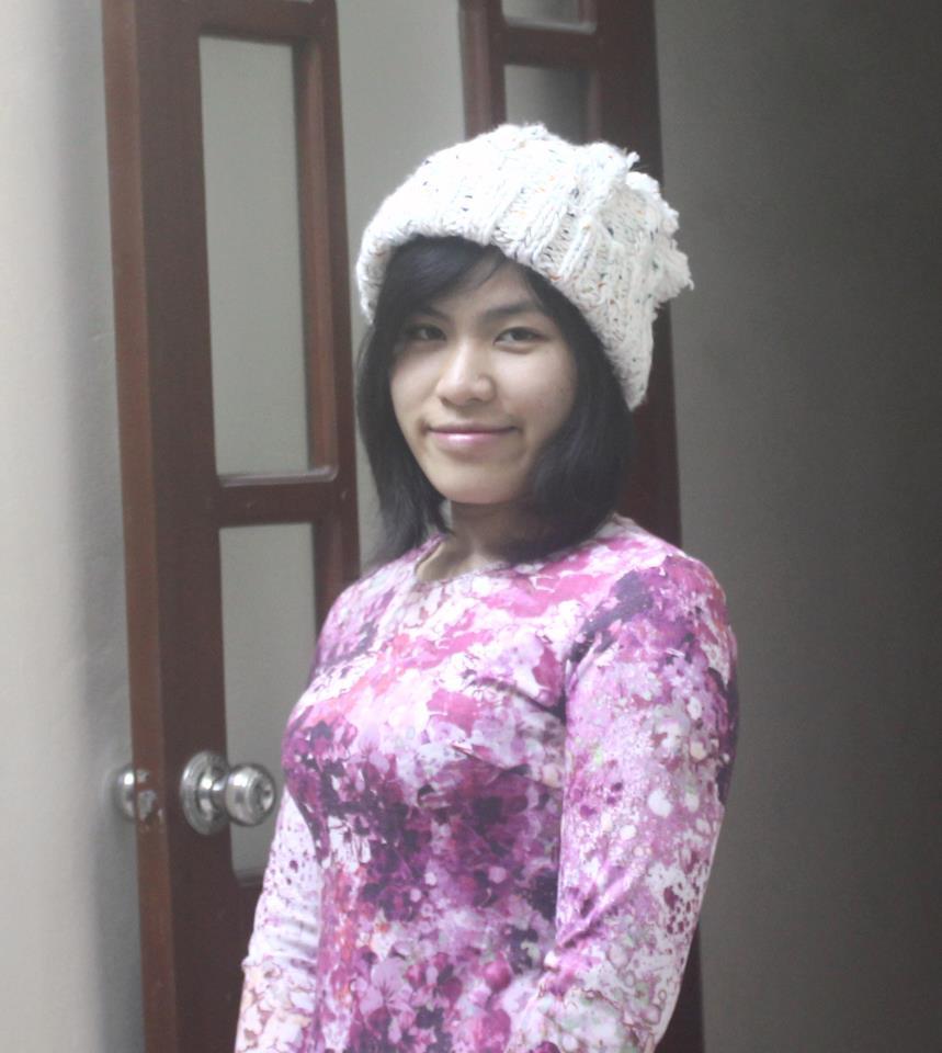 Chị Hà, lớp phát âm 3/2017 cô Moon