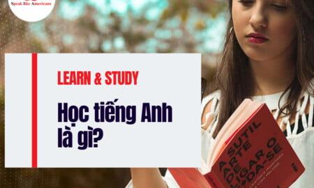 học tiếng anh là gì
