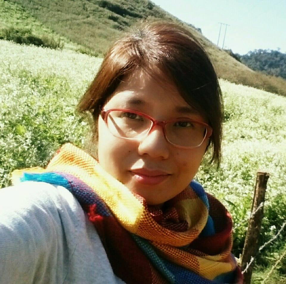 Chị Phượng - lớp phát âm T3/2017, cô Moon