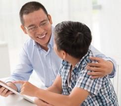 Học tiếng Anh cùng con