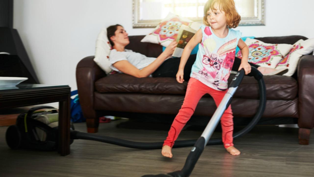 Bố mẹ lười thì khó làm gương cho con