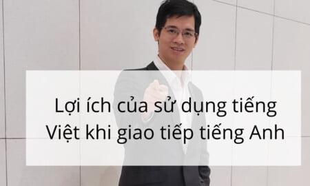 sử dụng tiếng Việt