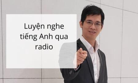 luyện nghe tiếng anh qua đài radio