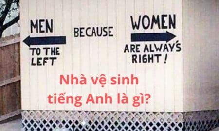 nhà vệ sinh tiếng Anh là gì